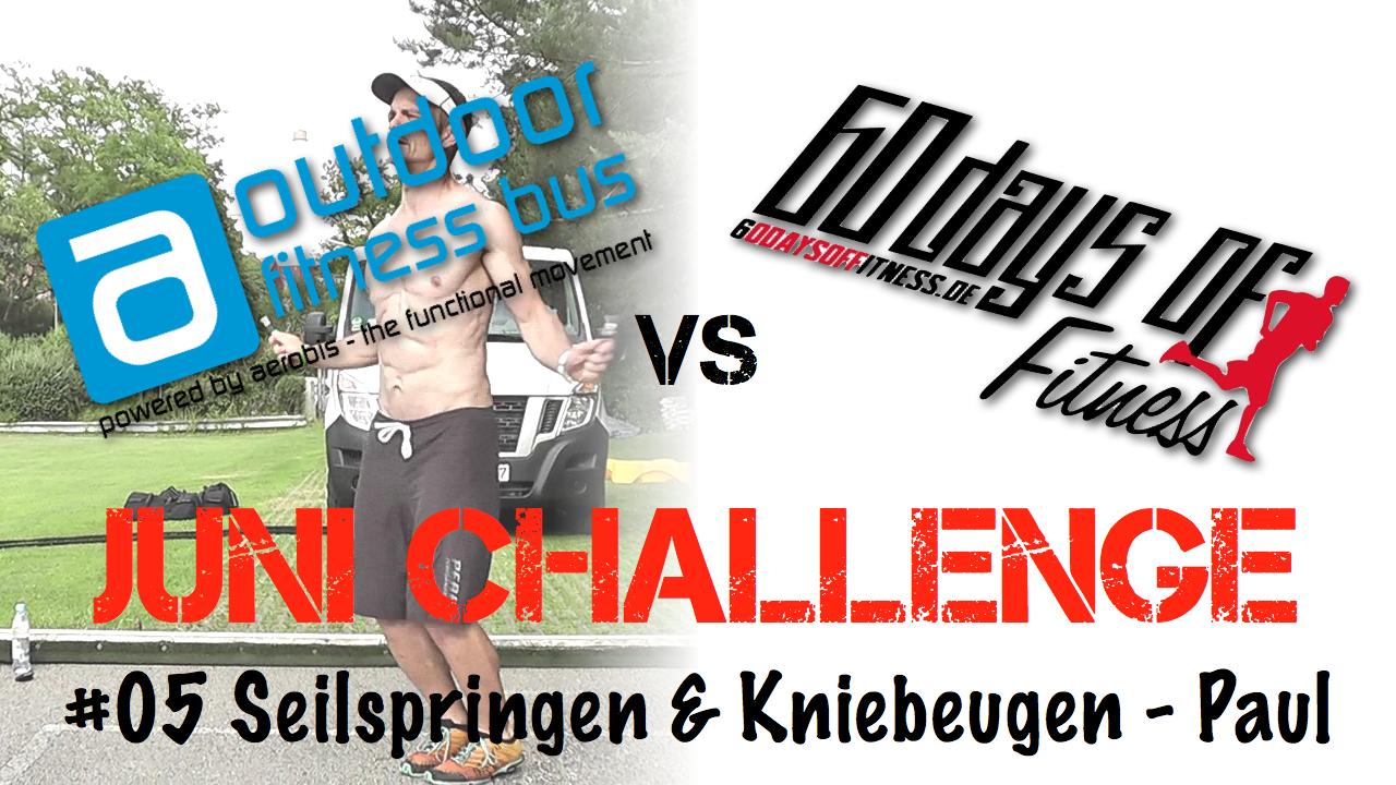 Seilspringen & Kniebeugen – Fitness Challenge Workout 05
