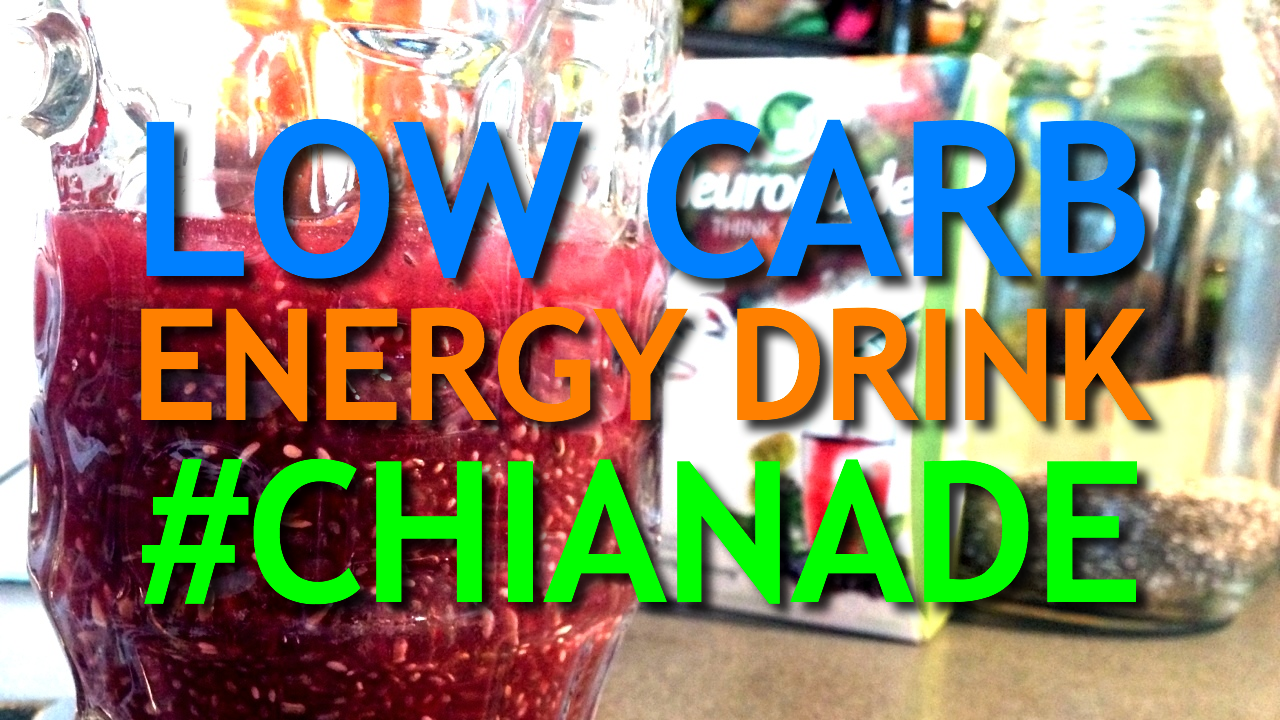 Chianade – Low Carb Energy Drink