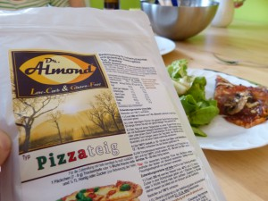 Low Carb Pizza - Dr. Almond