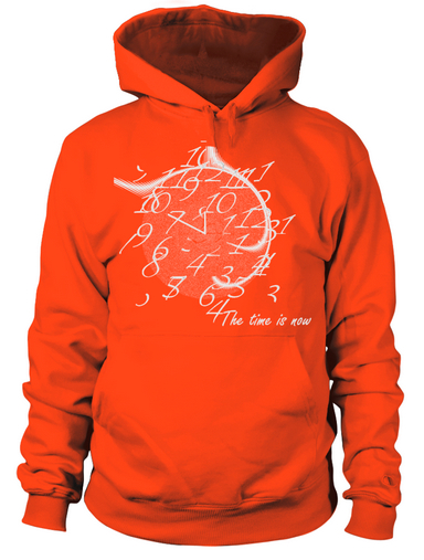 the-time-is-now-hoodie-orange