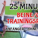 Anfänger Trainingsplan für zuhause (25 Minuten)