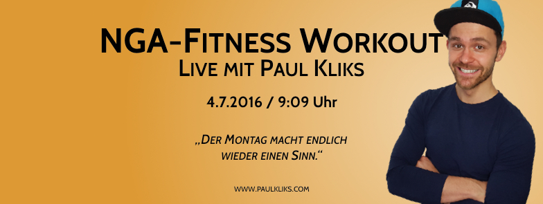 NGA Fitness Workout LIVE – 4.7.2016