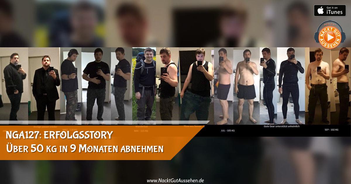 NGA127: Erfolgsstory – Wie Alex über 50 kg in 9 Monaten abgenommen hat!