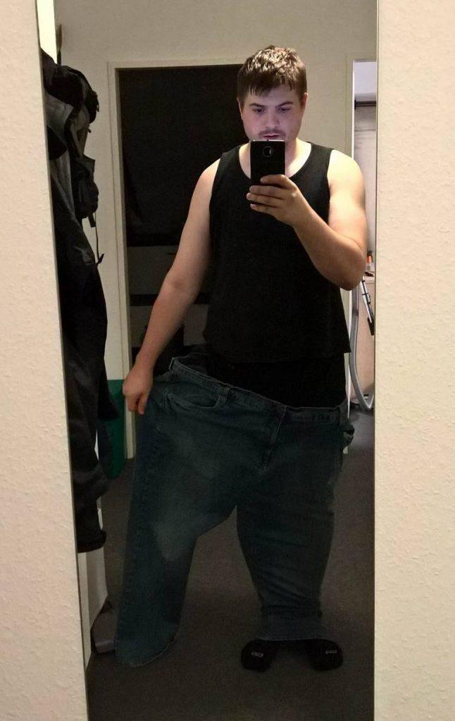 Alex im September 2016 mit 102 kg
