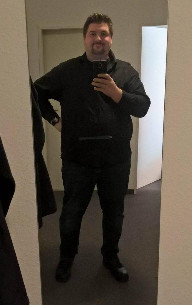 Alex im Januar 2016 mit 158 kg