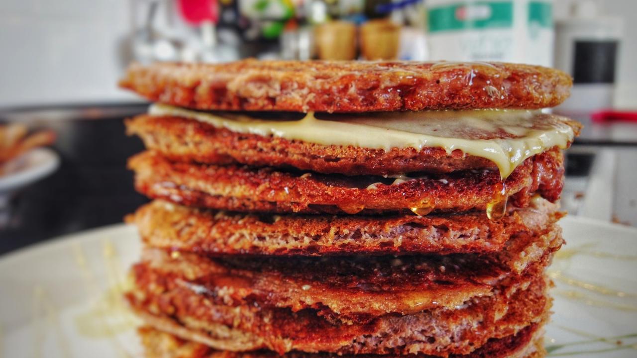 Low Carb Pancake ohne Mehl und Banane (schnell & einfach)